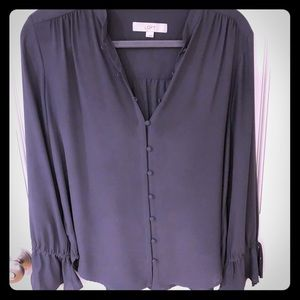 Small loft tie sleeve blouse size small
